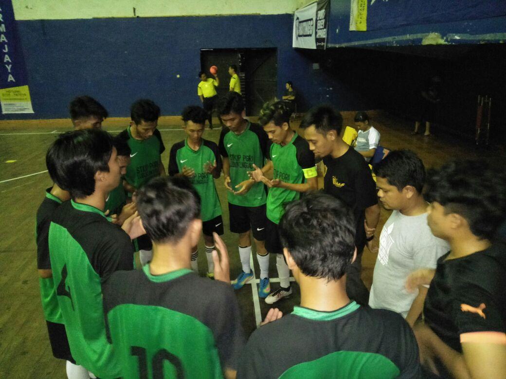 Tim Futsal STKIP PGRI Lubuklinggau Mengikuti Darmajaya Nasional Futsal Tournament 2018