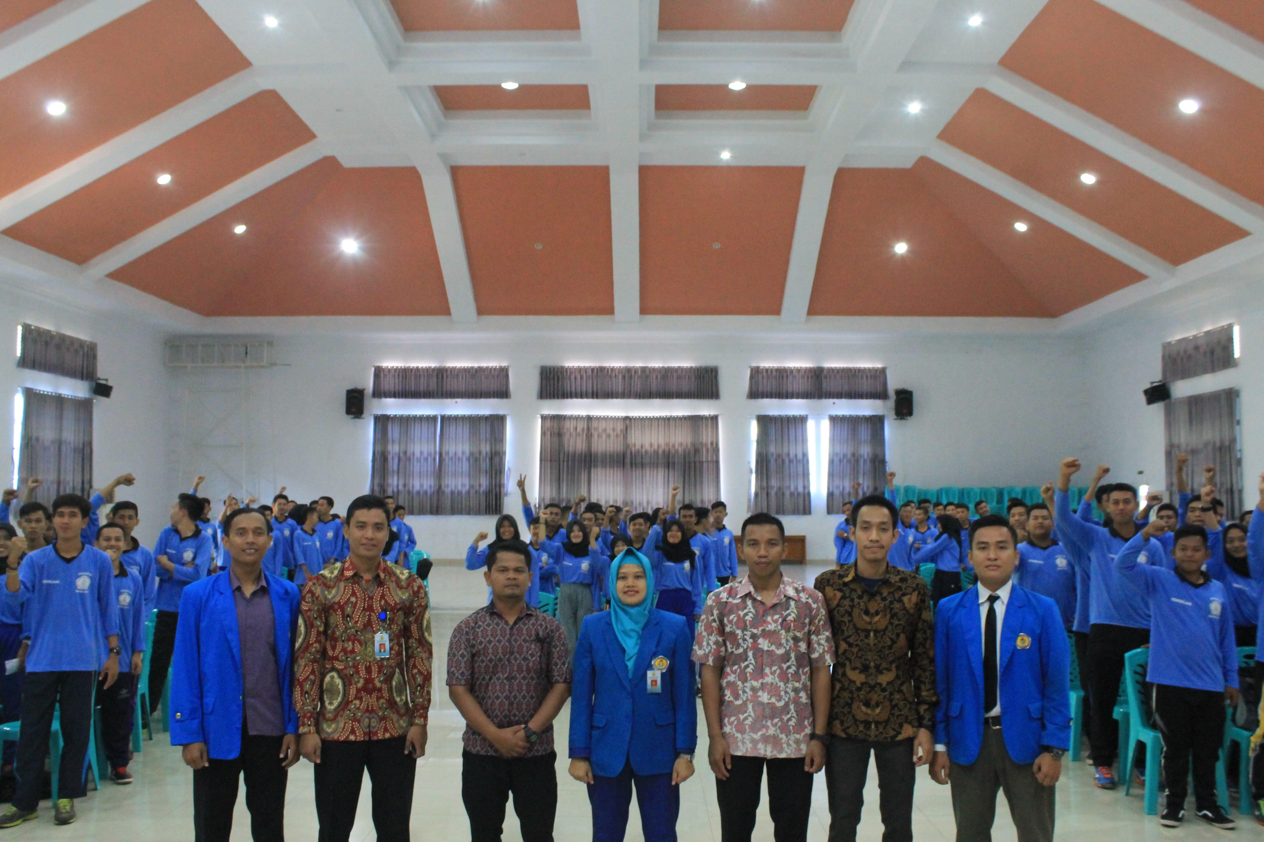 Inagurasi Mahasiswa angkatan 2017